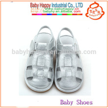 Fancy silver shoes china kids squeaky shoes and cheap children's sandals