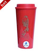 Vacío de insolación silicona Tapa inoxidable acero café taza/tazas