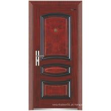 Painel de design porta de segurança de aço