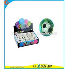 Новинка дизайн детские игрушки СИД Проблескивая футбольного света-воды прыгающий мяч