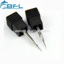 BFL- Herramientas de corte para fresado de extremo cónico en punta de bola de carburo sólido