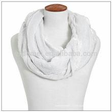 Сплошной цвет полый 1 долларовый шарф