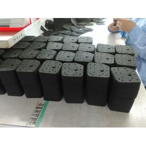 Black Die cutting Making Foam