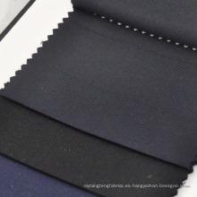 tejidos de sarga azul marino y negro telas mezcla de lana de cachemira para la confección y ventas al por mayor