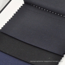 navy blue and black twill suit fabrics wool cashmere blend fabrics for tailoring and wholesales