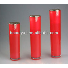Frasco cosmético airless acrílico redondo de 30ml 50ml