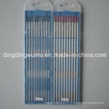 Électrode de tungstène pour le soudage TIG