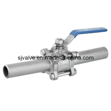 3-PC Butt Weld Ball Valve