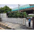 Qigong Aluminum Retractable Electric Gate Community
