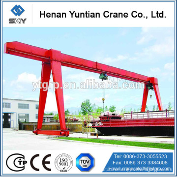 Top Quality Light Duty 5t Single Girder Gantry Crane