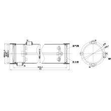 Swimming pool water filter FRP filter tanks