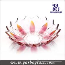 Bol en forme de fleur de lotus en verre