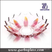 Lotus Flower Shaped Colored Glass Bowl