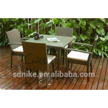 leisure lifestyle garden table set and chairs