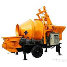 Bomba mezcladora de concreto de alto rendimiento y máquina de pulverización