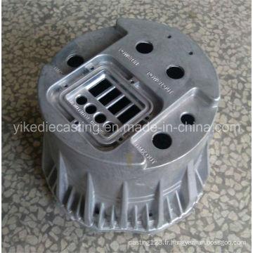 Couverture en aluminium de lampe de moulage mécanique sous pression LED avec le service d'OEM