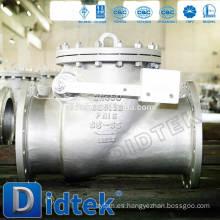 Válvula de retención de disco inoxidable Didtek