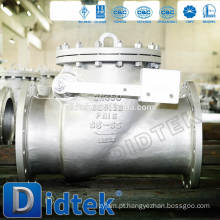 Válvula de retenção de disco de aço inoxidável Didtek
