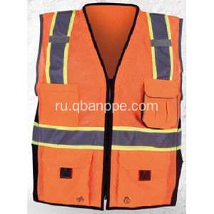 hot selling high visibility vest with pockets