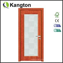 Porta do PVC do preço interno do MDF (porta do PVC)