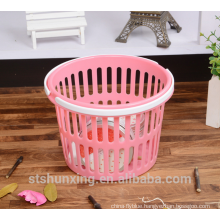 Cheap handy storage mini handle plastic basket with handle
