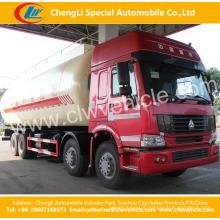 Caminhão de tanque maioria do poder do cimento de 8X4 HOWO 40cbm