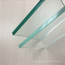 High Quality 8mm 10mm 12mm Ultra Clear Heat Strengthened Glass Low Iron semi Toughened Glass