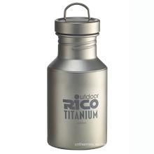Deportes de titanio de alta calidad botella de 400ml
