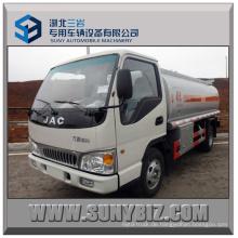 3000L ~ 5000L 120HP JAC 4X2 Kraftstofftank LKW