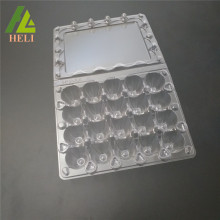 Plastic 20 Cells Quail Eggs Compartment Container