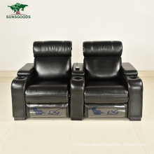 High Quality Comfortable Bonded Leather Home Theater Seat Home Cinema Seating Sofa