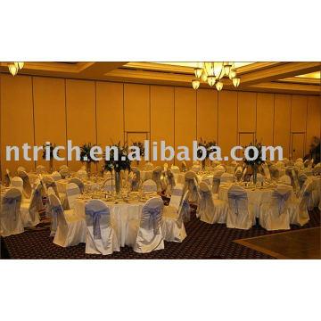 Satin chair cover, hotel/banquet chair covers, Organza sash