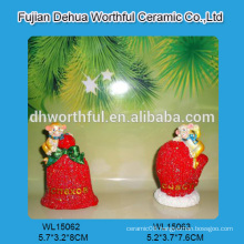 Wholesale resin christmas ornaments,resin monkeys figurine and custom monkey statue