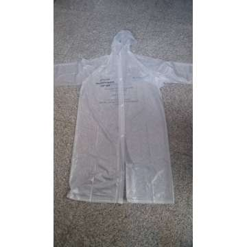 100% pvc hermoso impermeable impermeable poncho para adultos