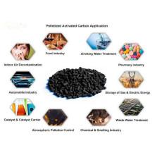 Precio de carbón activado en polvo de carbón para la purificación del agua