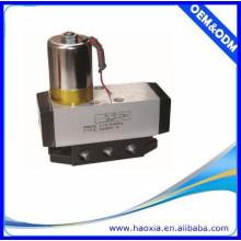 Válvula de control eléctrico única de 4/2 vías AC24V Pneuamtic con alta calidad