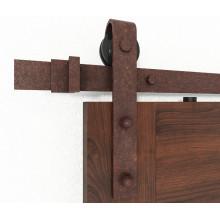 antique style used Wood Panel Sliding Barn Doors, Top Sliding wood Barn Door