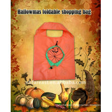 pumpkin foldable shopping bag