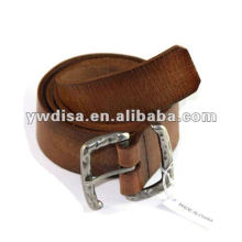 Wholesale Plain Genuine Leather Belt For Man