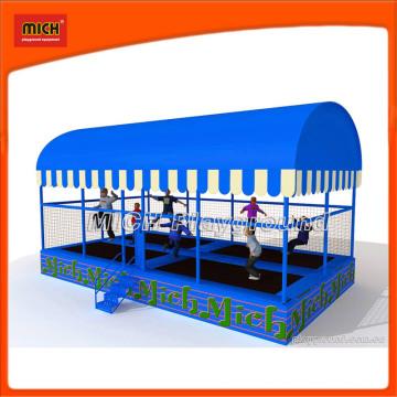 Trampoline extérieur pour enfants avec tente