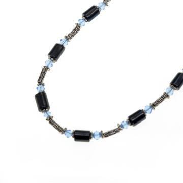 Magnetic Hematite Wrap Bracelet Necklace