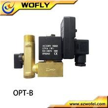 2WB-25 Aço Inoxidável Solenóide de água / Válvula solenóide elétrica de água
