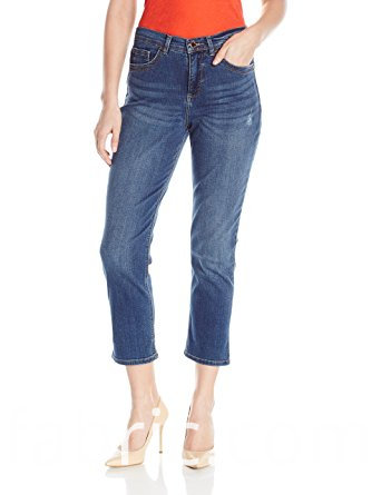 531fsahion Women S Cotton Capris Denim Blue