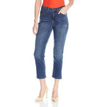 Capris donna in cotone color denim