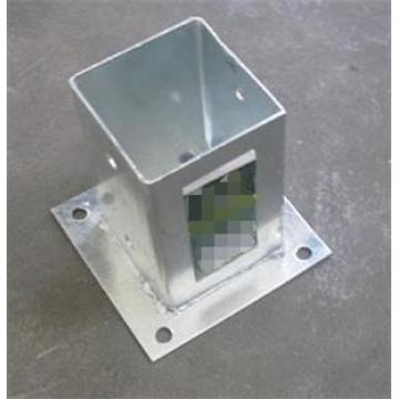 Galvanized steel clamp support