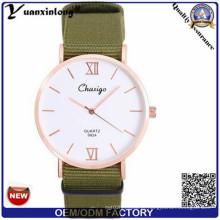 Yxl-304 Whosale Dw estilo real pulseira de nylon moderno assistir homens das mulheres senhoras relógio OEM / ODM