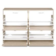 Modern fashion wooden shoe cabinet