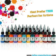 0.5oz 34 colors Set Tattoo Ink Set