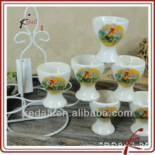 China Factory Wholesale Ceramic Porcelain Egg Cup Mug