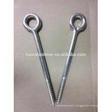 zinc plated carbon steel eye screw eye hook